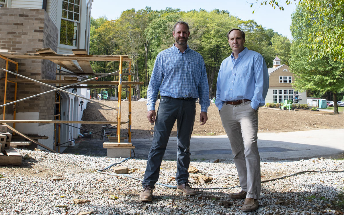 How two ordinary guys ended up building the most extraordinary homes.